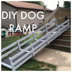dog ramp with railings - Google Search