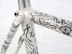 Illustrated Bike - Eisenherz by MORPHORIA DESIGN COLLECTIVE , via Behance