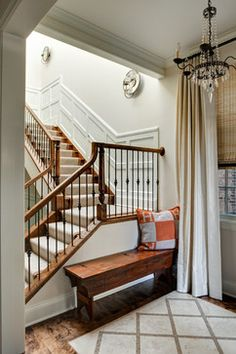Lakeview Residence - traditional - staircase - chicago - Lewis Giannoulias (LG Interiors)