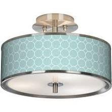 aqua ceiling light - master