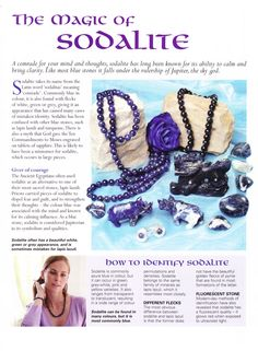 The magic of Sodalite