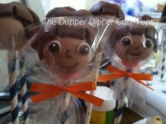 Dora The Explorer Cake Pops by The Dapper Dipper on Etsy