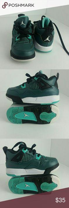 AIR JORDAN RETRO 4 IV KIDS SHOES VERY CLEAN INSIDE-OUT   TODDLER SIZE 7C   SKE # DD2 Air Jordan Shoes Sneakers