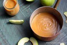 Homemade Low Carb Caramel Sauce is easy to make with just 4 ingredients.   low carb, gluten-free, keto   lowcarbmaven.com