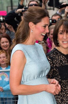 Kate Middleton's curls from the side. See more angles here: