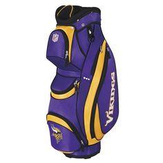 Minnesota Vikings NFL Cart Bag by Wilson.  Buy it @ ReadyGolf.com