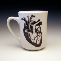 Anatomical Human Heart Ceramic Coffee Mug Set Of Two $55 - click on the photo for a direct link - http://goreydetails.net/shop/index.php?main_page=product_info=37_87_id=1308