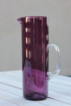 * Iittala violetti kannu