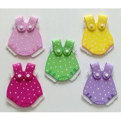 Recuerdos Para Baby Shower, Nacimiento. Imanes En Foami - Bs. 550,00 en Mercado Libre