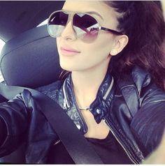 Faryal.M.Khan Faryal Makhdoom Khan, Beautiful Couple, Pakistani, Eye Makeup, Sunglasses Women, Bling, Leather Jacket, Celebrities, People