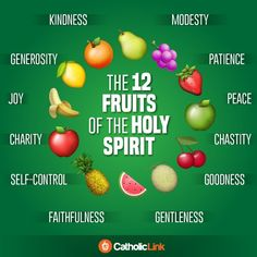 ~The 12 Fruits of the Holy Spirit