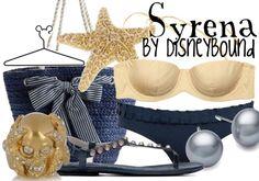 Syrena by disneybound