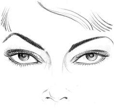 Учимся рисовать fashion-эскиз. Урок 2. Глаза