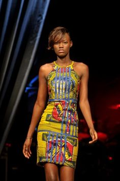 Dakar Fashion Week : Adama Paris (Sénégal) été 2012