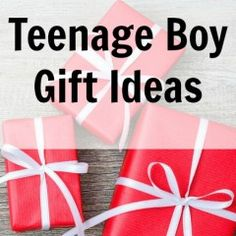 Cool Teenage Boy Gift Ideas