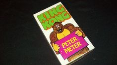 Vintage Novelty Gift - King Kong Peter Meter - Slightly Risque - Funny!