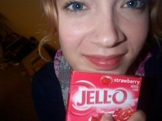 use jello as a lip stain