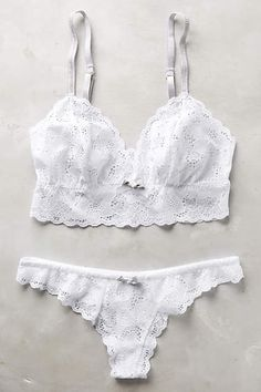 Eberjey Gemma Bralette - anthropologie.com #anthrofave
