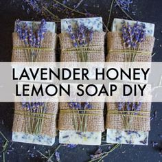 another great suggestion to make lavender scent soap Best Picture For DIY Gifts for mothers For Your Taste You are Lavender Honey, Lavender Soap, Honey Lemon, Lemon Soap, Diy Confetti, Confetti Poppers, Baby Shower Presents, Homemade Soap Recipes, Gifts For New Moms