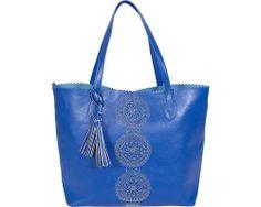 Buco Handbags Large Pinwheel Tote - Royal