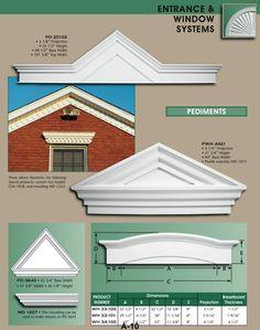 exterior window trim ideas exterior vents and trim window pediment