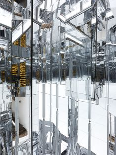 Lee Bul's Labyrinth of Infinity Mirrors: Via Negativa II | Video | The Creators Project