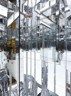 Lee Bul's Labyrinth of Infinity Mirrors: Via Negativa II   The Creators Project