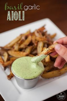 Basil Pesto Aioli Recipe The best fries I have ever had were parmesan and aioli truffle fries. They are super savory and was told the reason for their flavor was more the aioli. Aioli is a harden cheese form of mayonnaise. Yea somethings I just don't want to know but it tastes so good. I … Continue reading »