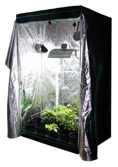 Viagrow Complete Organic Grow Room 4 x 4 u003eu003eu003e More info could be found  sc 1 st  Pinterest & MILLIARD 48 x 24 x 60 100 Reflective Mylar Hydroponic Grow Tent ...