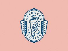 Spencer's Coffee Seal designed by Harold Apples. Connect with them on Dribbble; the global community for designers and creative professionals. Font Design, Seal Design, Badge Design, Identity Design, Type Design, Bakery Logo Design, Brand Identity, Typography Logo, Typography Design