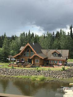 Alaska River Cabin