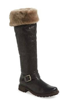 Frye 'Valerie' Cuff Over the Knee Boot (Women) available at #Nordstrom