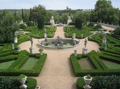 #Garden of the NaTional #Palace of Queluz #Portugal