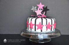 Make-a-Cake Series: Estelle Part 2—Stars and Curls | Make It and Love It