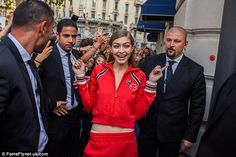 GIGI - 09/24/2016  SHOWING TOMMY HILFIGER X GIGI AT MFW