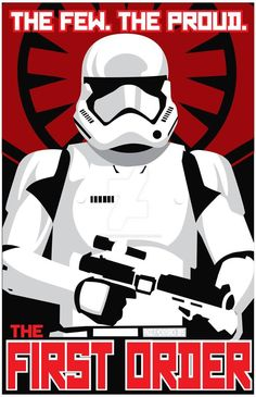 Star Wars Saga First Order Recruitment Poster