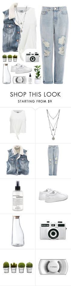 """looking below"" by martosaur ❤ liked on Polyvore featuring Vero Moda, Vince Camuto, H&M, Warehouse, philosophy, Georg Jensen, Holga, Billabong and MAC Cosmetics"