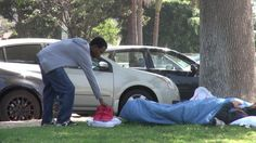 When People See a Pair of $5,000 Yeezys Next To A Homeless Guy They Do The Unthinkable