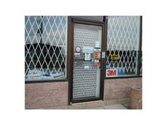 Folding gate for Store front Security - Glassessential.com  http://www.glassessential.com/security-scissor-folding-gate  #folding #gate #door #foldinggate #expandable #collapsible #security #expandablegate #collapsiblegate #securitygate #storefront #patio #divider #enclosure #storage #access #accesscontrol #windowgate #windowbars