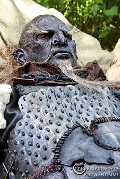 Orc elder in repose