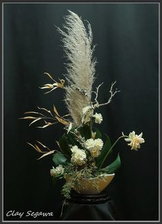 Ikebana designed by Clayton Segawa.