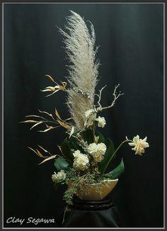 Ikebana designed by Clayton Segawa.