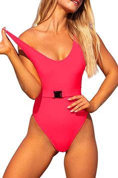 Freewander Girls V-Neck Bathing Suits Cute Swimwear Animal Print One Piece Swimsuit