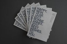 New Year Card 2017