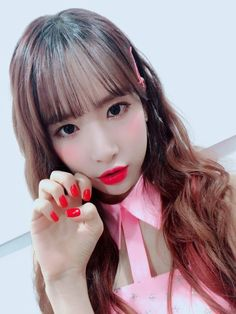 #Seola Yuehua Entertainment, Starship Entertainment, Pop Group, Girl Group, Cosmic Girls, Girl Bands, Parks, Kpop, Hair Styles