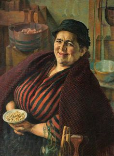 Evan Walters English 1893 - 1951 The Cockle Woman Female Images, Female Art, Fat Art, Portraits, Portrait Paintings, Cockles, Fat Women, Women In History, Beautiful Paintings