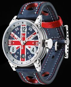 The Watch Quote: The french watches BRM UK England, BRM Manufacture launches a tribute to the Union Jack… Brm Watches, Sport Watches, Cool Watches, Watches For Men, Latest Watches, Fine Watches, Union Jack Decor, Course Automobile, British Things