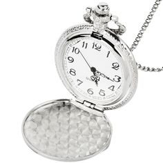 vintage watch Silver Color Pocket Watch Motorcycles Pattern Relogio De Bolso Quartz Watch with Necklace Chain alloy necklace Quartz Pocket Watch, Silver Pocket Watch, Quartz Watch, 3d Pattern, Silver Pendant Necklace, Men Necklace, Necklace Chain, Armani Watches For Men, Steampunk Pocket Watch