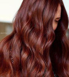 16 Brown Hair Colors, from Bronde to Dark Brunette Redish Brown Hair, Copper Brown Hair, Red Brown Hair Color, Chestnut Brown Hair, Dark Red Hair, Burgundy Hair, Ginger Brown Hair, Mahogany Brown Hair Color, Deep Brown Hair