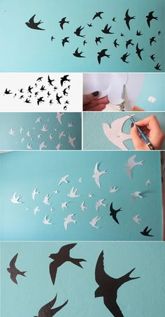 Swallows Wall Decor